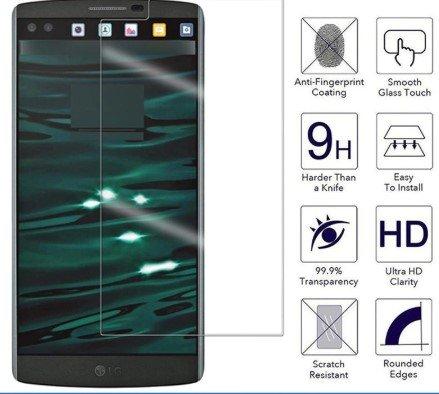 Flat edge screen protectors