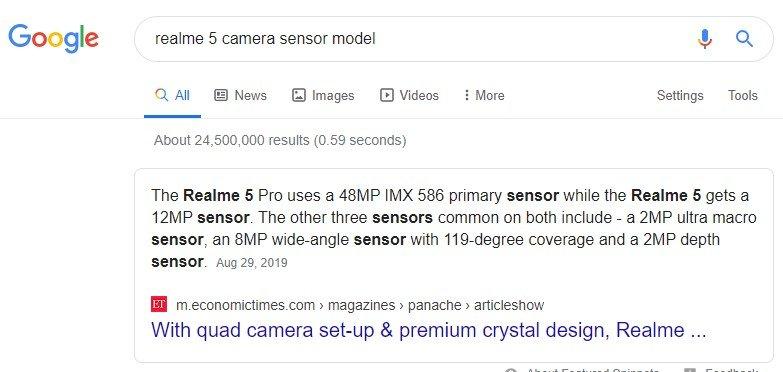 realme 5 camera sensor- Whaddafudge