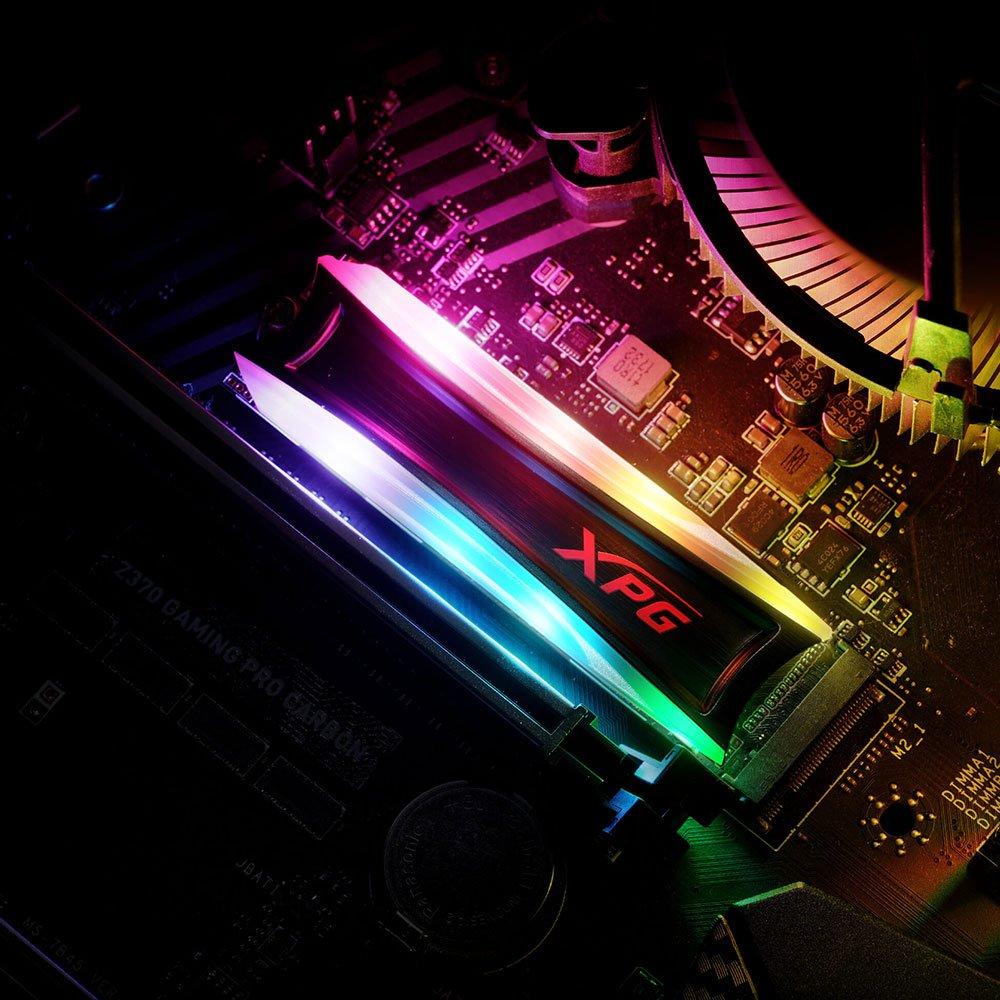 Adata XPG Spectrix S40G (best RGB NVME SSD Pakistan 2020)